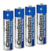 باتری نیم قلمی کملیون مدل Super Heavy Duty (بسته 4 عددی)