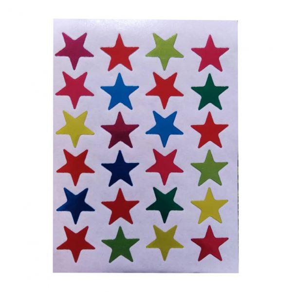 برچسب ستاره درشت (10 برگی)
