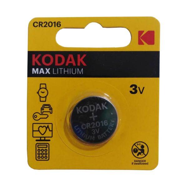 باتری سکه ای کداک CR2016