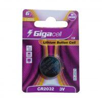 باتری سکه ای گیگا سل مدل CR2032