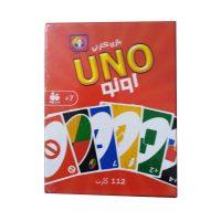 بازی فکری کارتی اونو (112 کارتی)