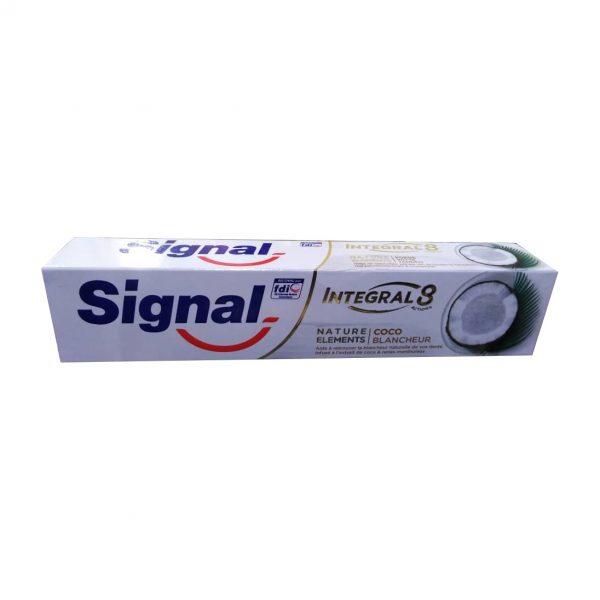 خمیر دندان سیگنال سری INTEGAL8 مدل COCO حجم 100 میلی لیتر
