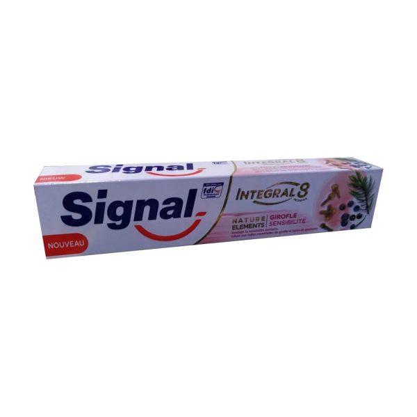 خمیر دندان سیگنال مدل INTEGAL8 حجم 100 میلی لیتر