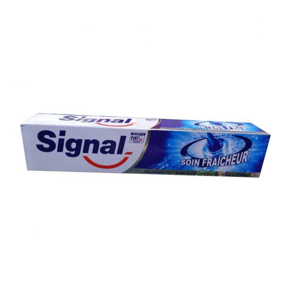 خمیر دندان سیگنال مدل SION FRAICHEUR حجم 100 میلی لیتر