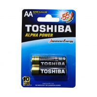 باتری قلمی کارتی آلکالاین توشیبا مدل ALPHA POWER