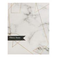 دفتر کلاسوری جلد سخت 100 برگ پاپکو مدل Classy Stone