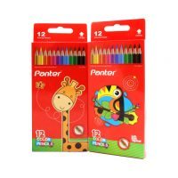 مداد رنگی 12 رنگ پنتر مدل PCP 103