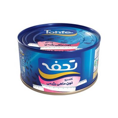کنسرو ماهی تون رژیمی تحفه مقدار 180 گرم