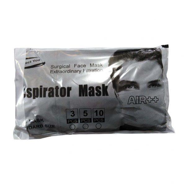 ماسک تنفسی 3 لایه (بسته 10 عددی)