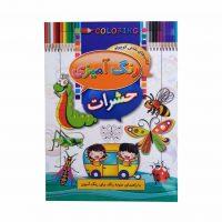 كتاب رنگ آميزي حشرات اثر ابوالفضل سلطاني