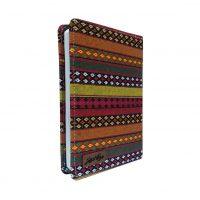 دفترچه یادداشت 100 برگ دوکا طرح جاجیم سایز 18