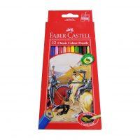 مداد رنگی 12 رنگ فابرکاستل مدل Classic