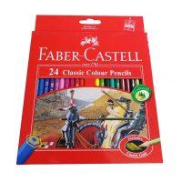 مداد رنگی 24 رنگ فابرکاستل مدل Classic