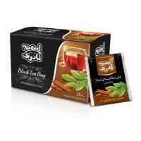 چاي سياه كيسه اي با طعم دارچین نادری بسته 25 عددي