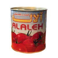 کنسرو رب گوجه فرنگی آلاله مقدار 800 گرم