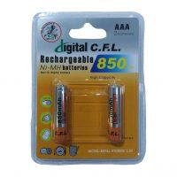 باتری شارژی نیم قلم C.F.L مدل NI-MH